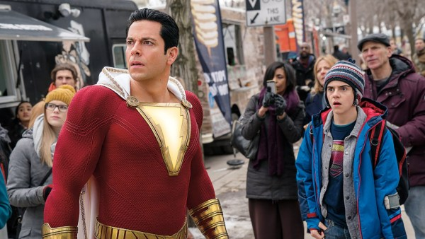 """Shazam"" Star Zachary Levi Interview"